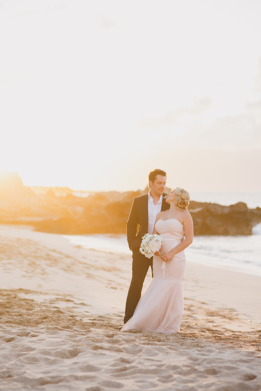 Ocean Beach West Maui Elopement Photographer