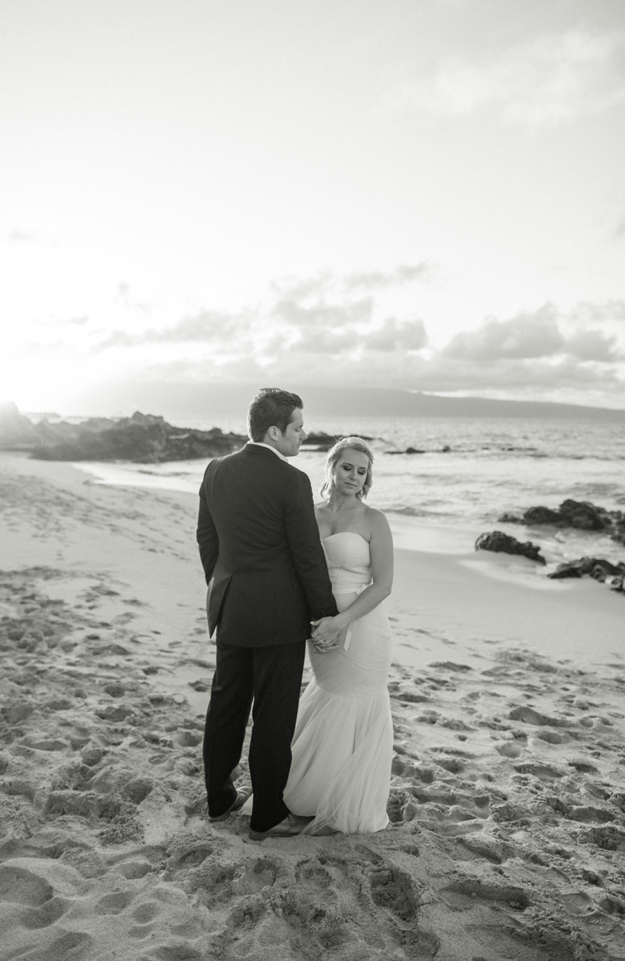 Ocean Beach Maui Elopement Photography