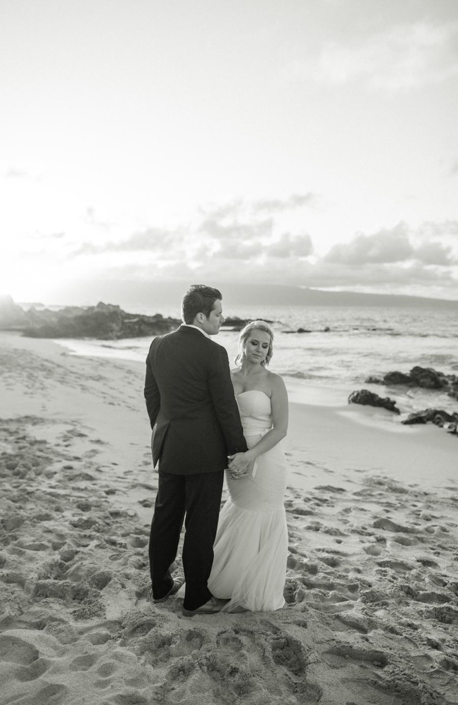 Ocean Beach Maui Elopement Photography