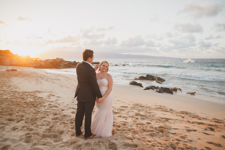 Romantic Kapalua Wedding Photographer