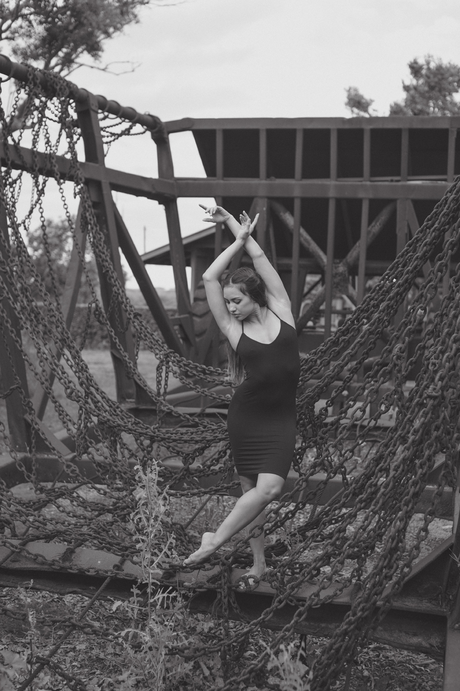 contemporary dance photography black and white