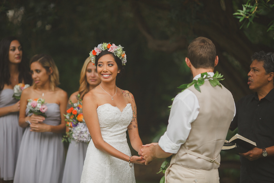 Maui Wedding Ceremony at the Bailey House Museum