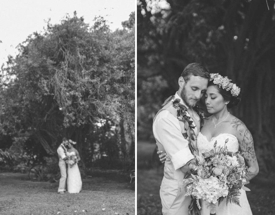 Groom at Maui Wedding Venue Bailey House Museum