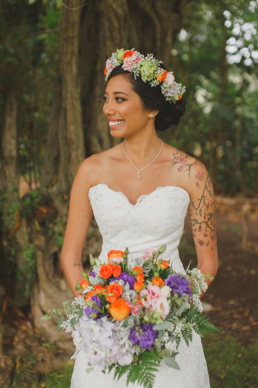 Bride at Bailey House Museum Wedding Venue