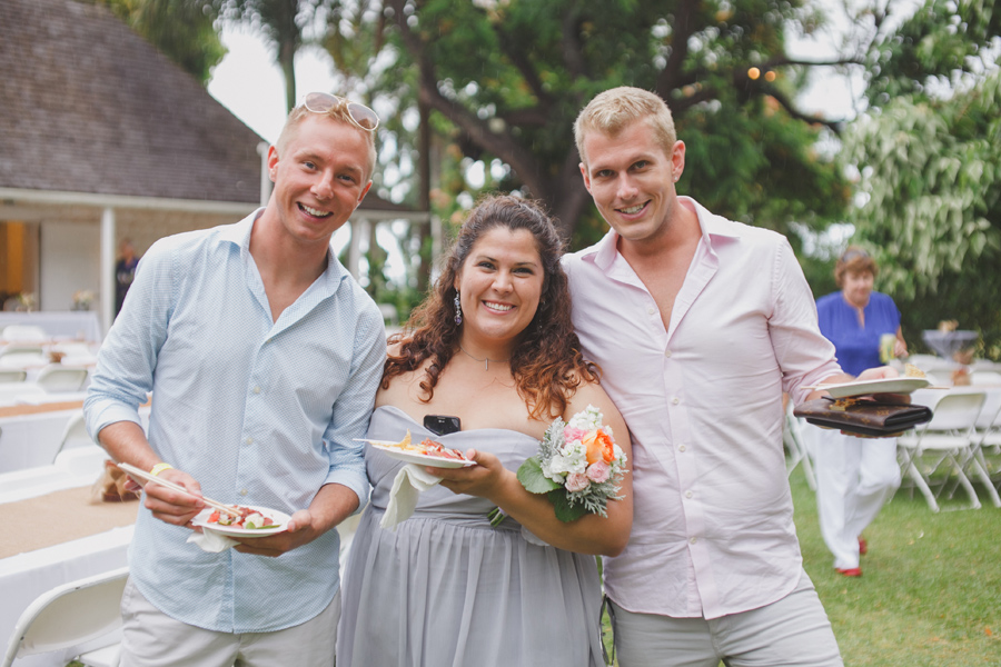 Maui Wedding Guests at Bailey House Museum