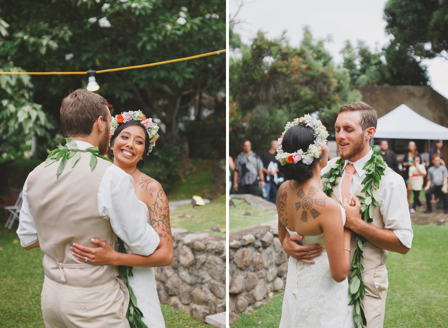 first dance for maui wedding photographer