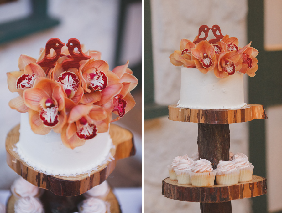 Cupcakes at Maui wedding Venue Bailey house museum