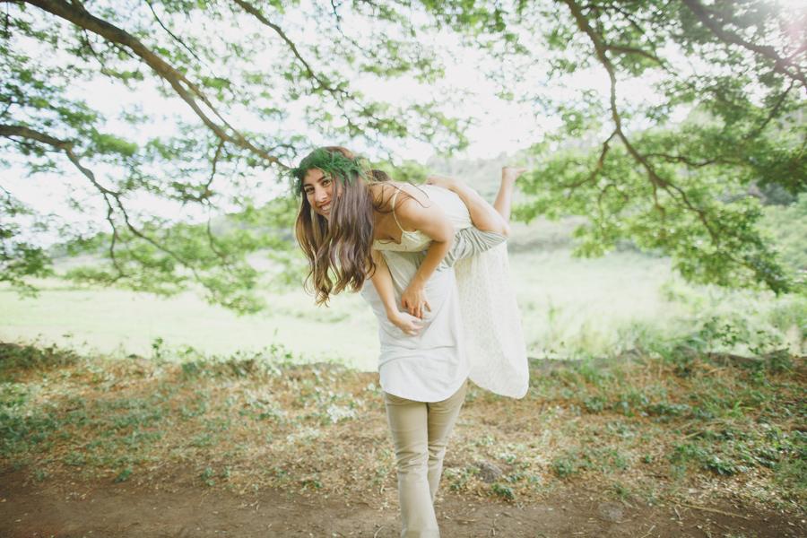 Playful Maui Engagement Photography