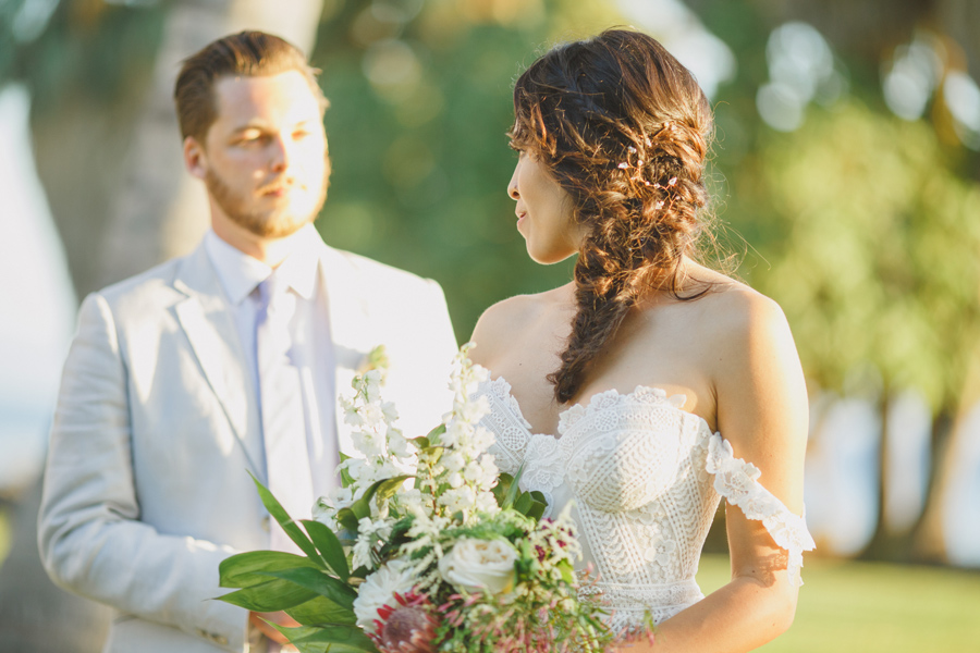 boho maui wedding photography