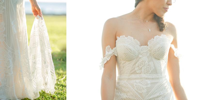 rue de seine maui wedding dress