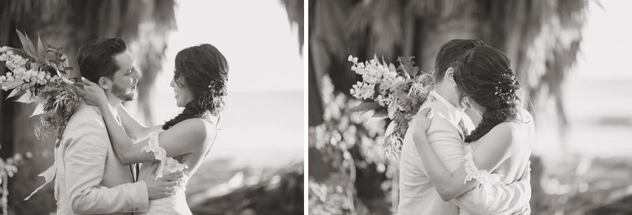 black and white boho photography