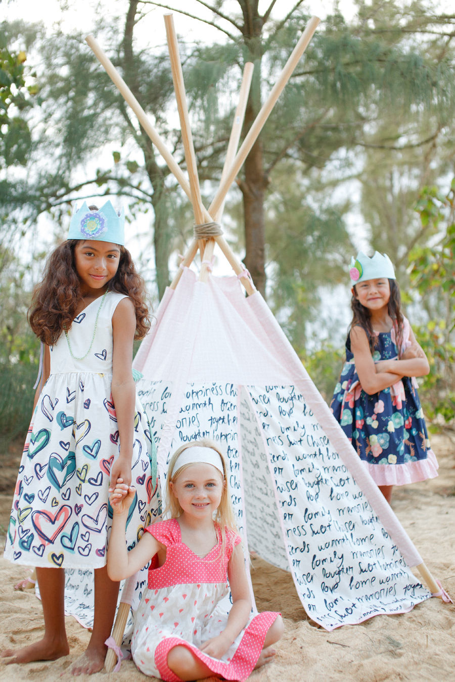Tippee Maui Editorial Family Photography