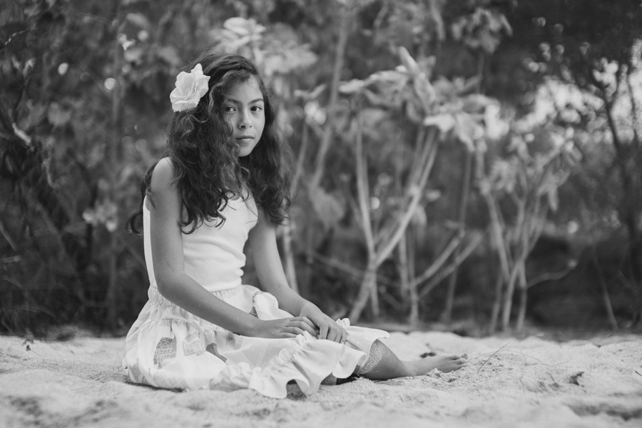 Black and White Children's Editorial Photography