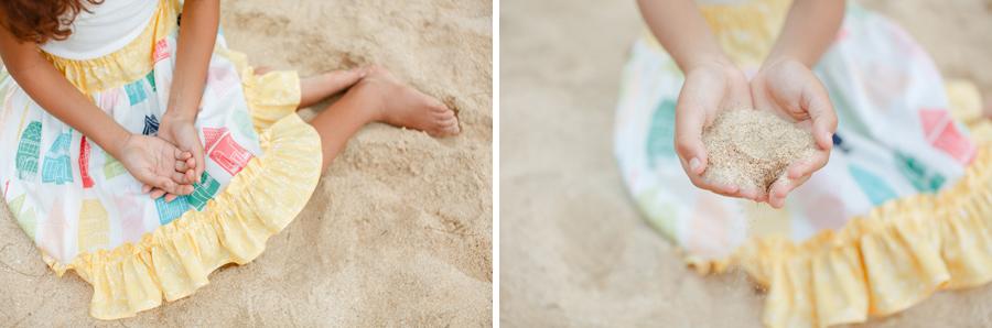 Sand Skirt Colorful Photography