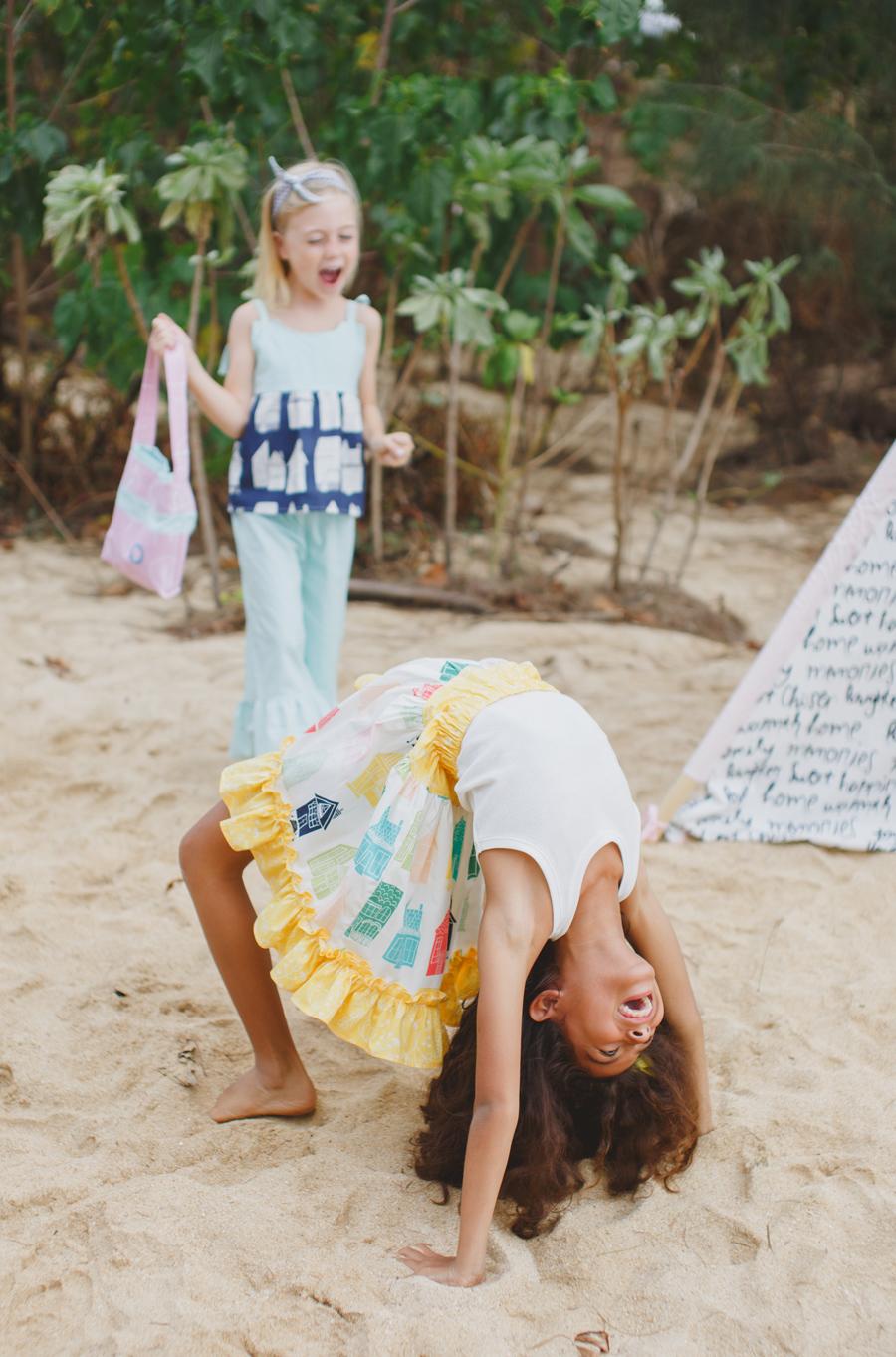 Back bend Maui Photography