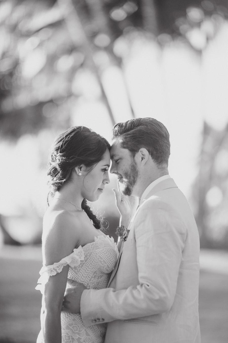 boho maui wedding photos