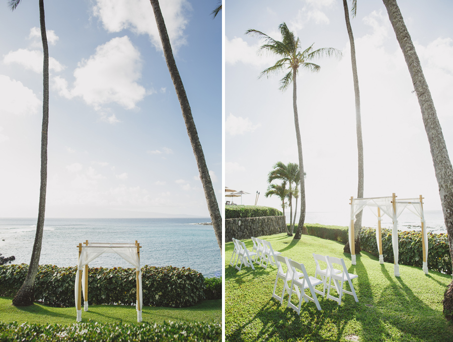merriman's kapalua wedding venue