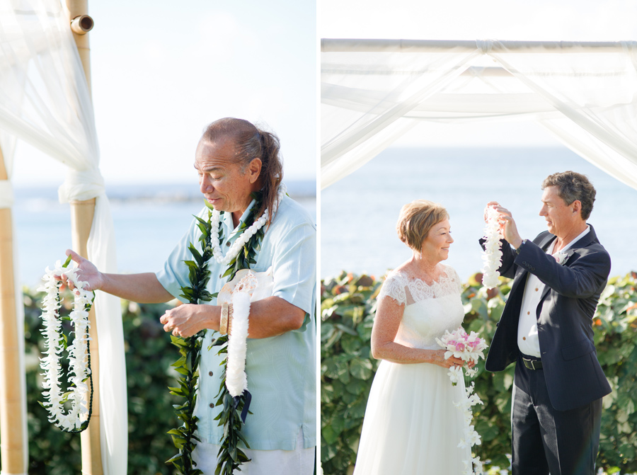 maui wedding photography leis