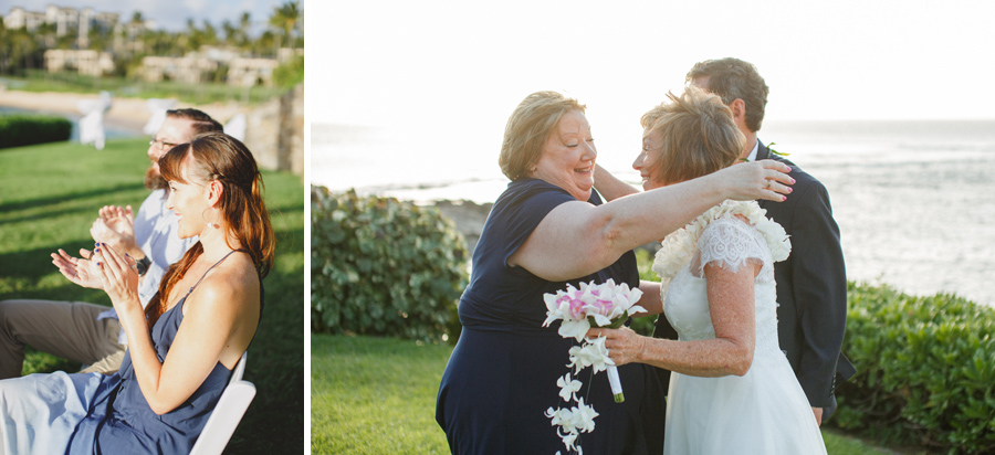 joy filled wedding merriman's kapalua maui