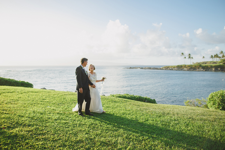 maui wedding kapalua bay