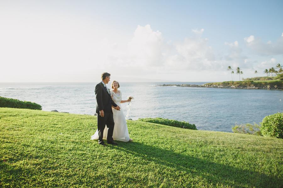 maui wedding kapalua bay
