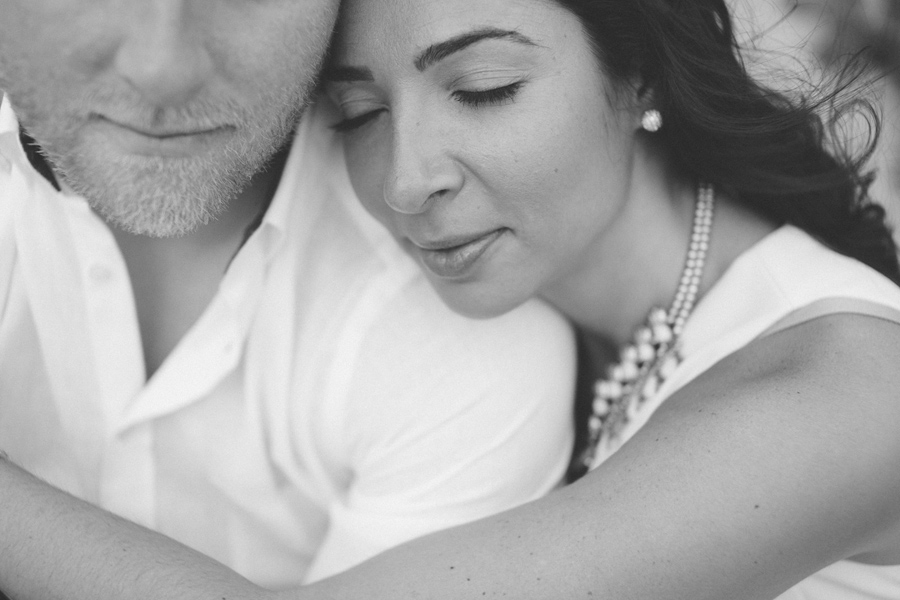 romantic black and white photography
