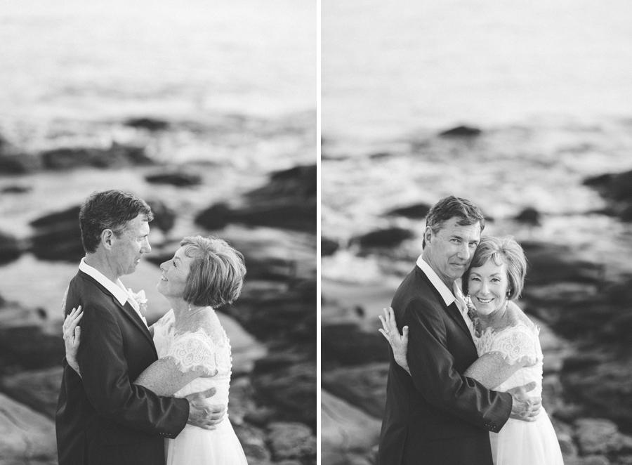 black and white maui wedding photographer