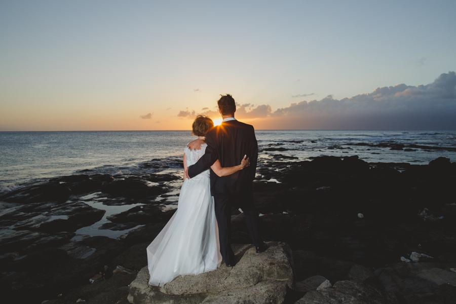 maui sunset wedding photography