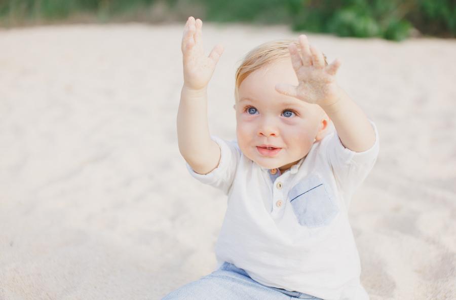 sandy baby photo