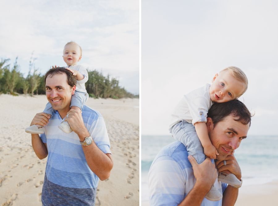 baby and daddy photography