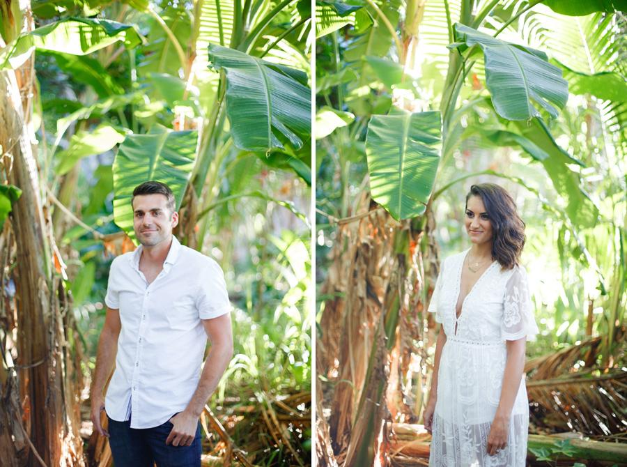 hawaii engagement portraits