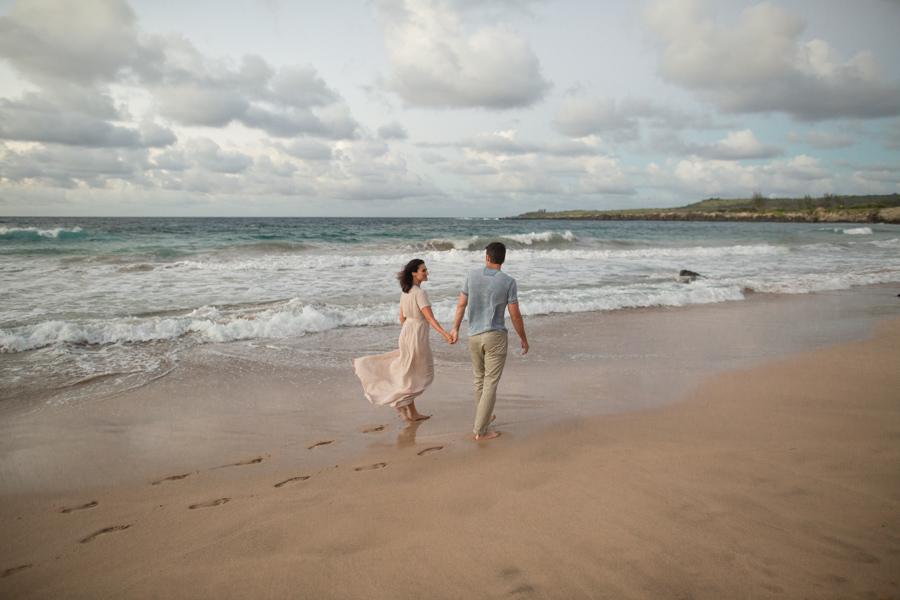ironwoods maui beach engagement
