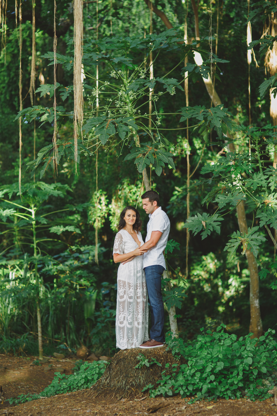 hawaii jungle engagement