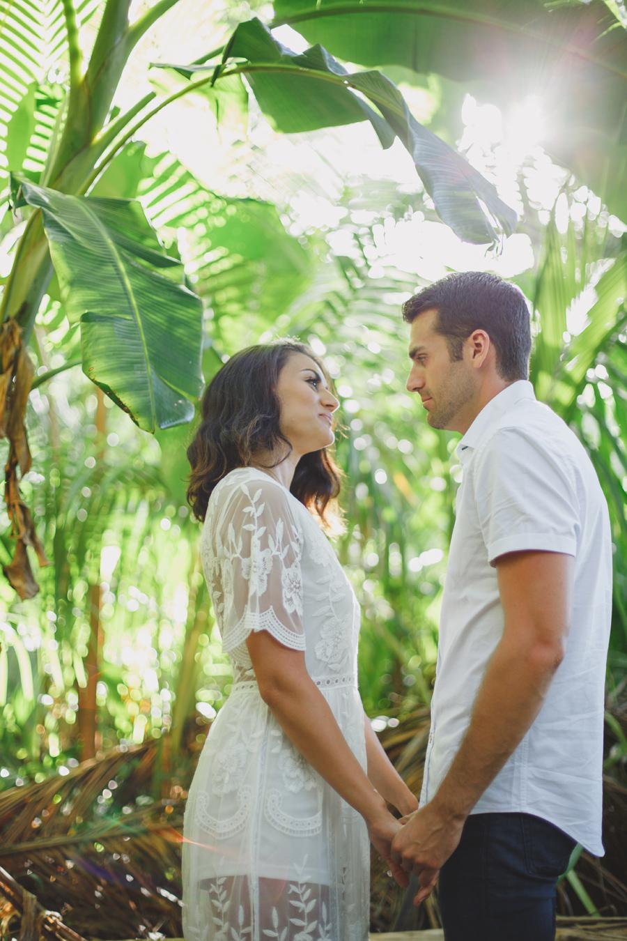maui honolua jungle elopement