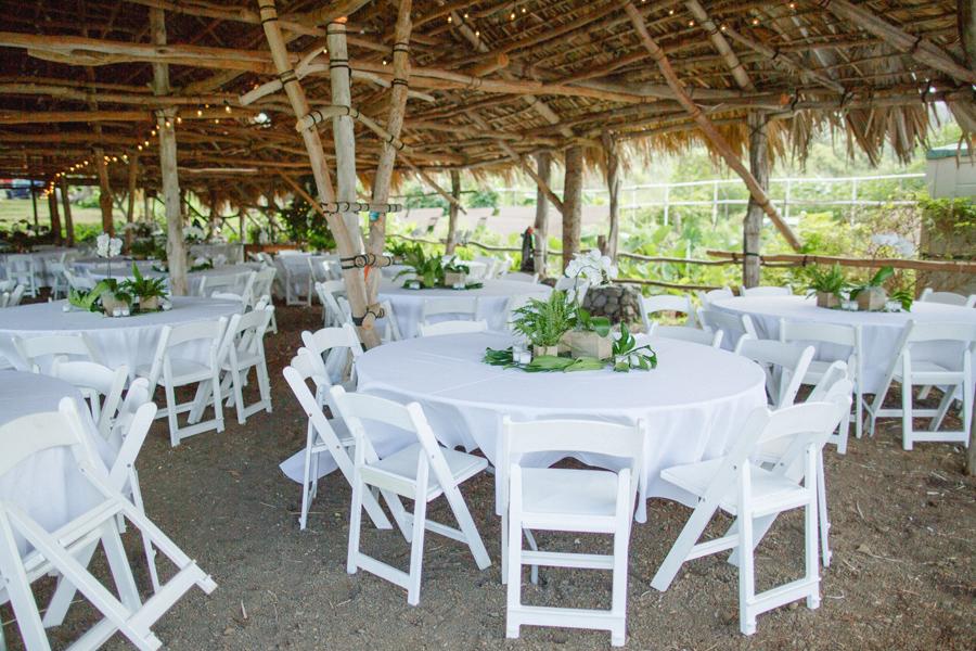 maui wedding reception
