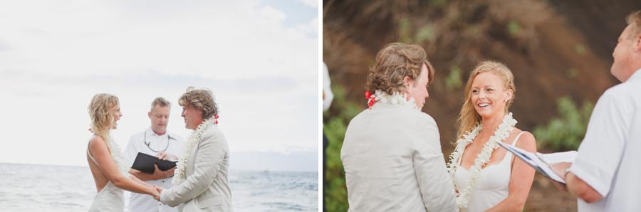 maui vows on beach