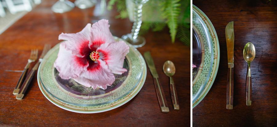 hibiscous wedding design