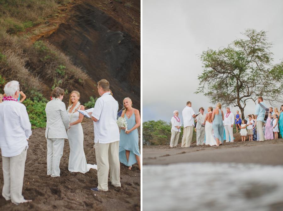 maui beach wedding vows