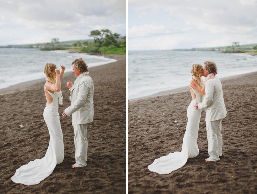 oneuli beach maui wedding