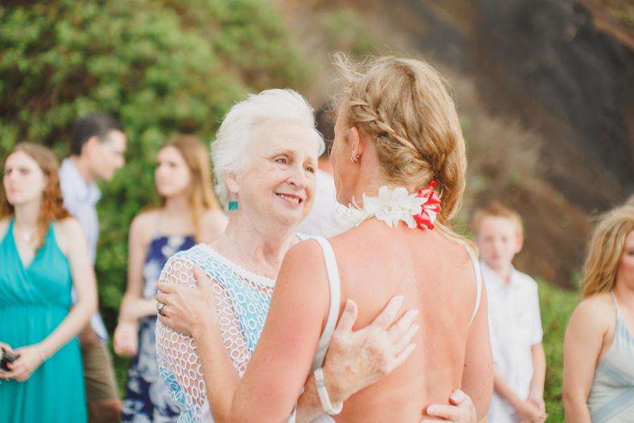 grandma love wedding moments