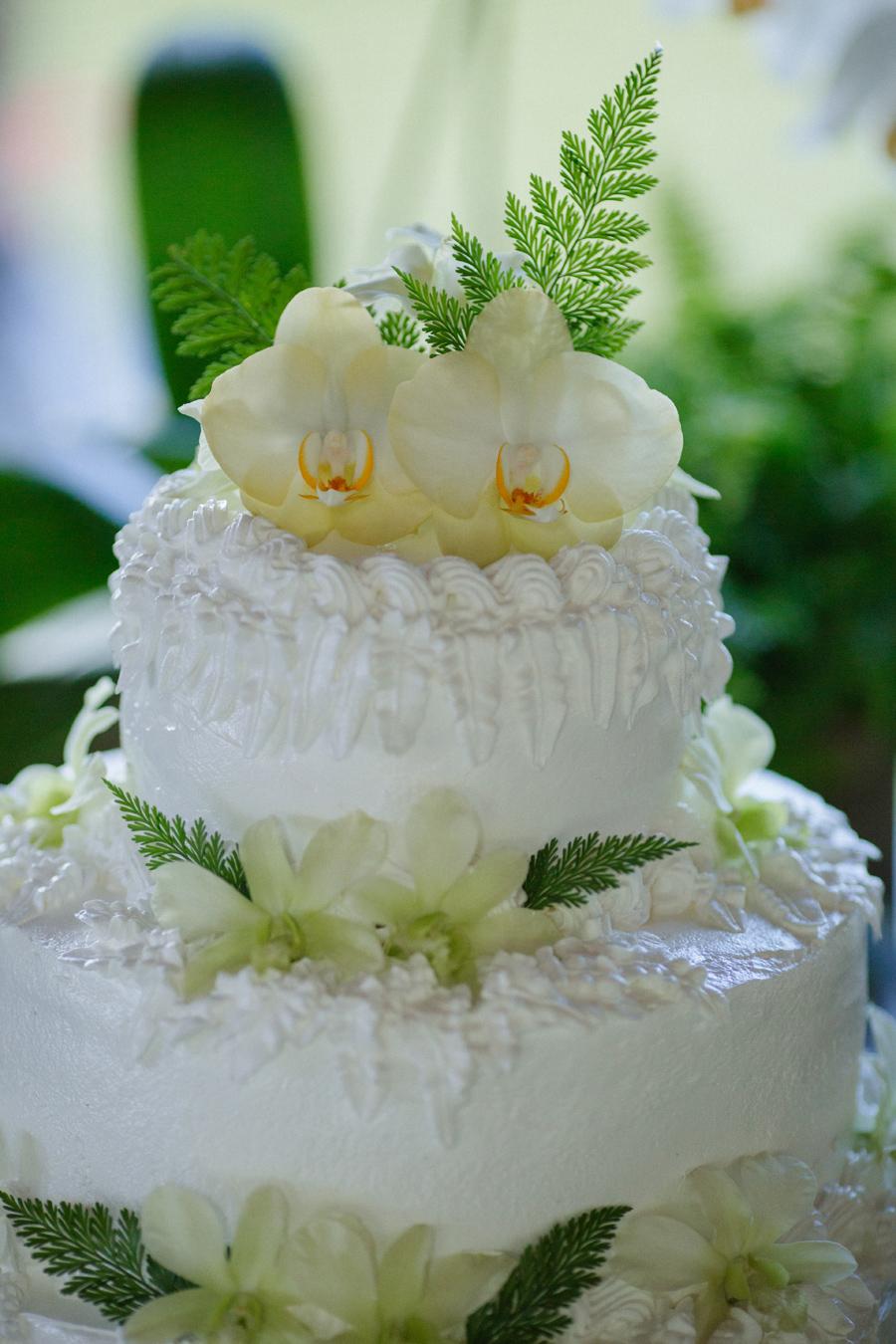maui hana wedding cake