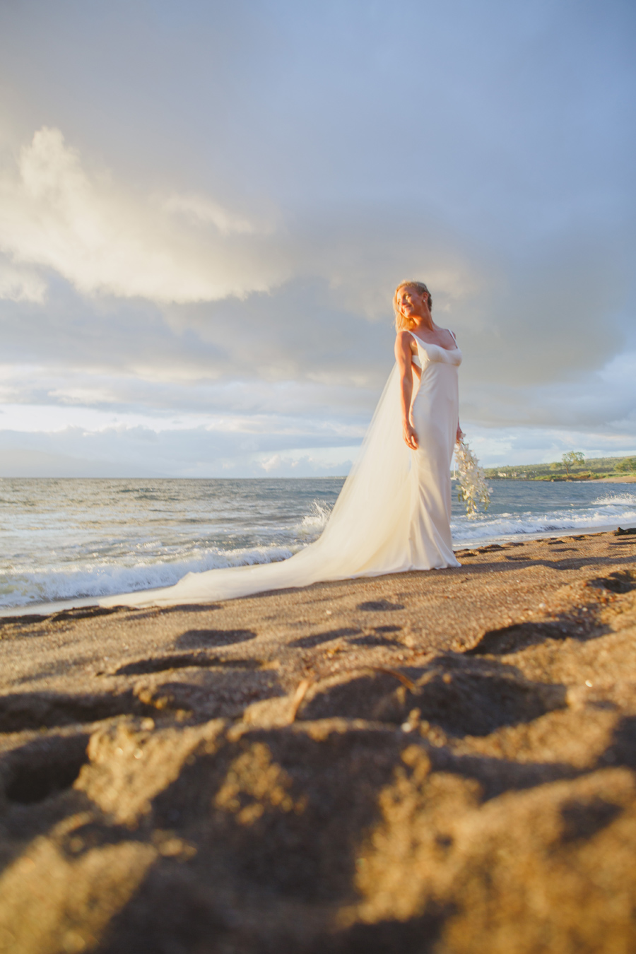 hawaii bridal photography