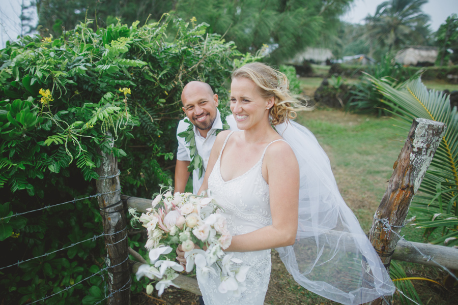 hana ranch wedding photo