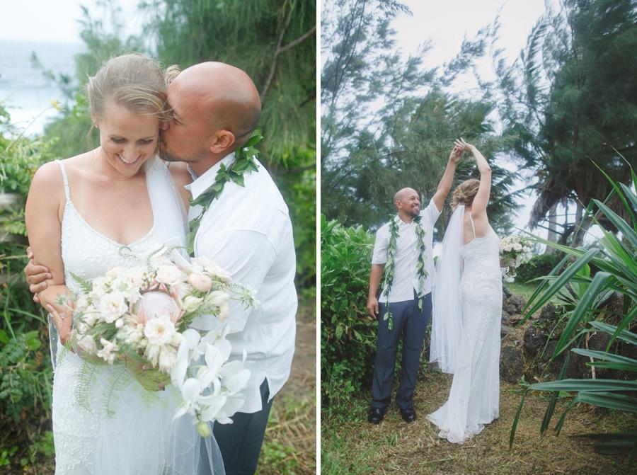 romantic maui wedding photographer