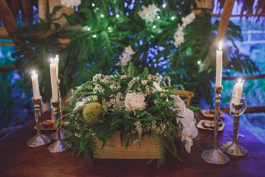 maui wedding bridal table