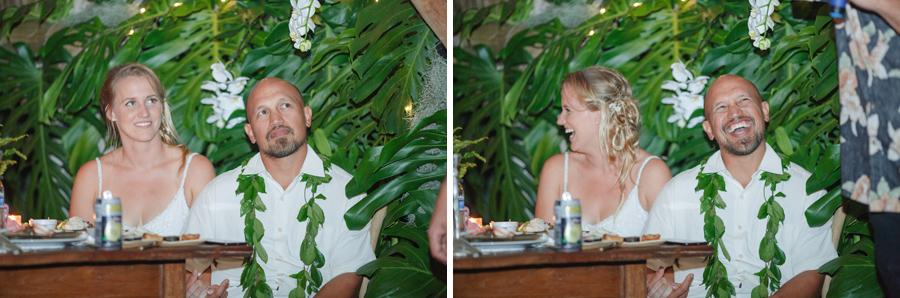 maui wedding toasts