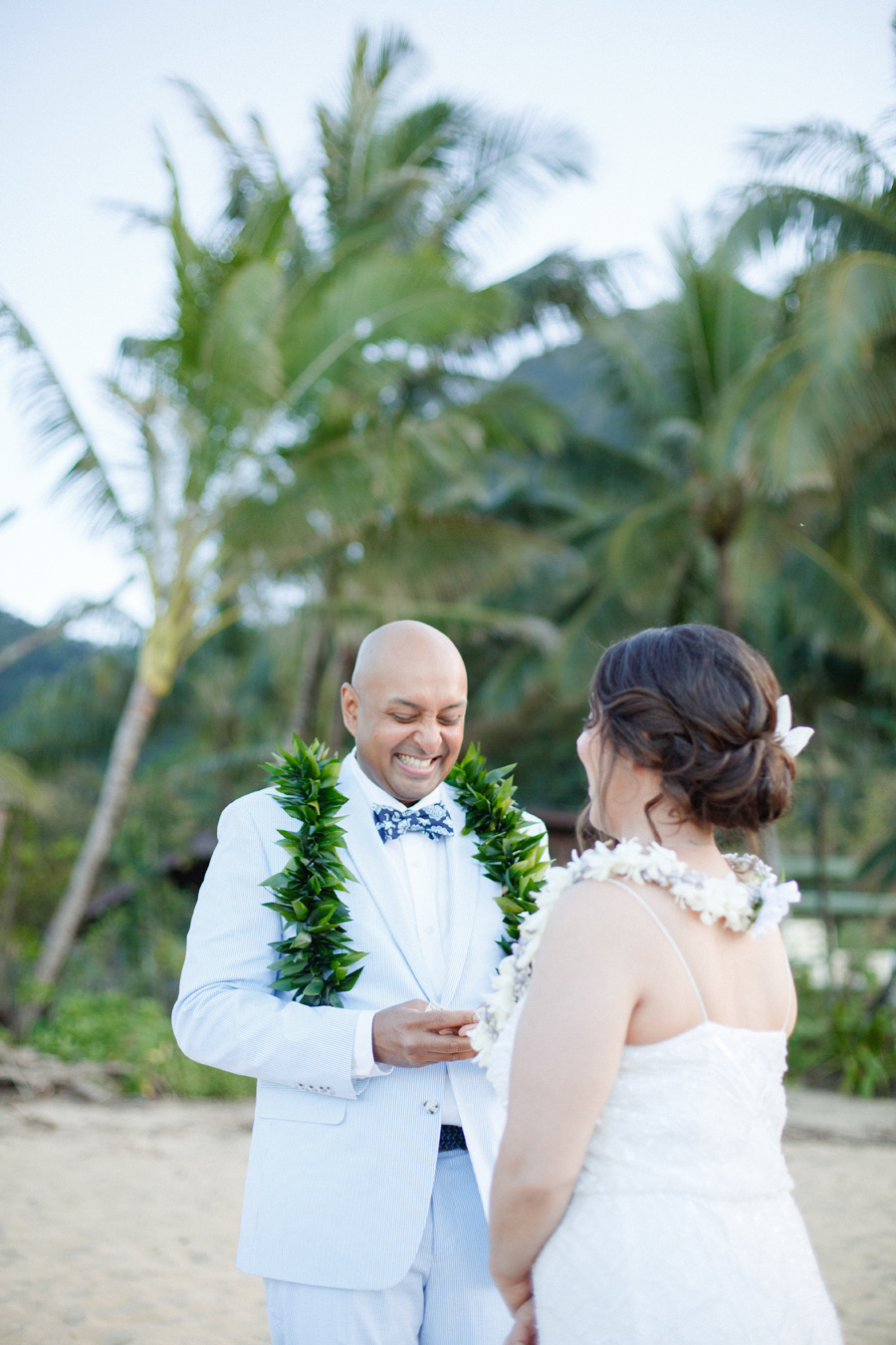 joyful kauai wedding ceremony