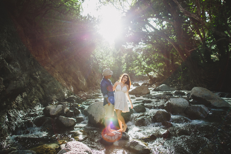 Fun and Playful maui engagement photography