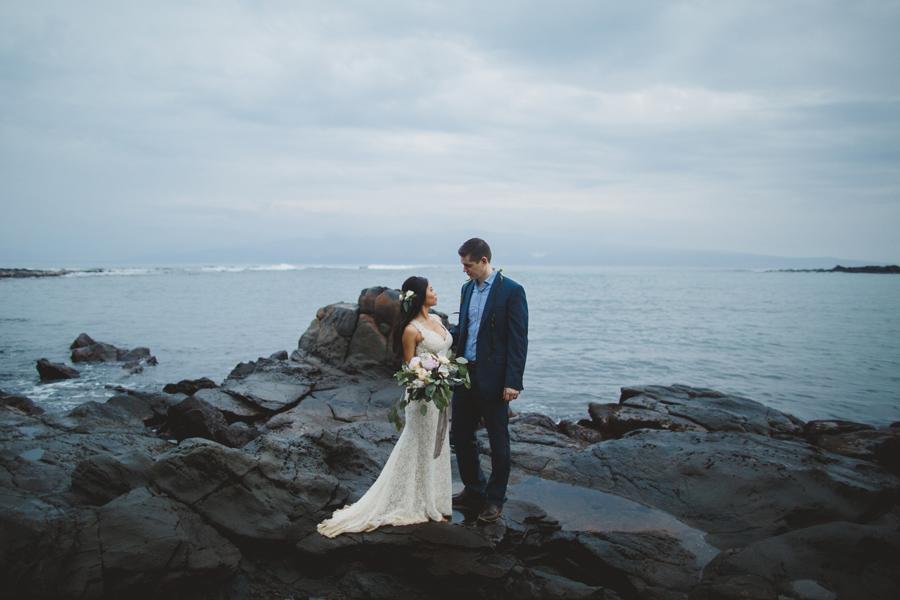 kapalua bay maui wedding photographer