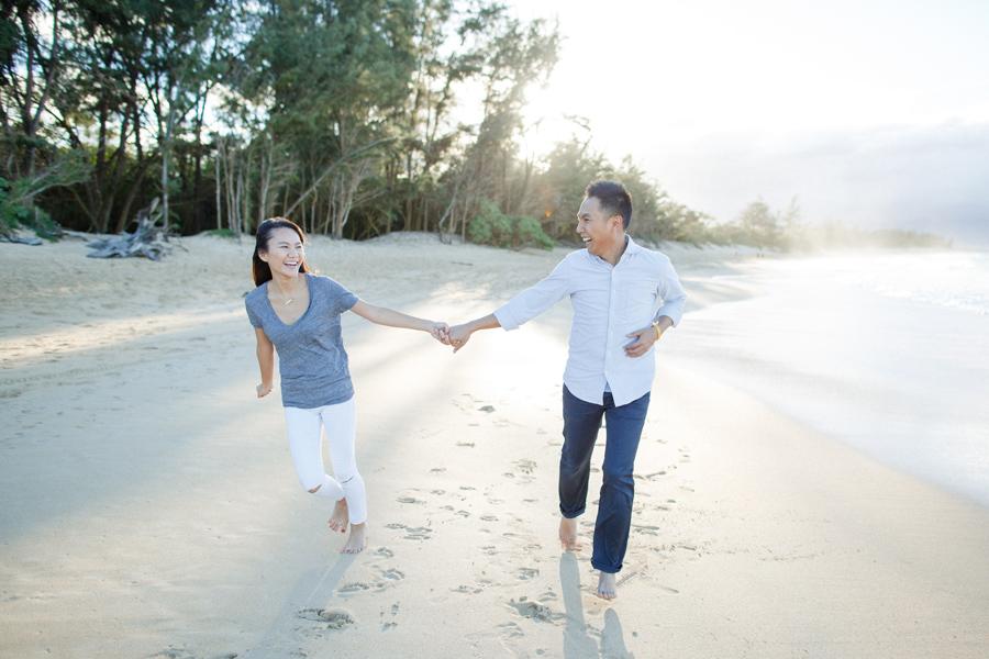 Beach Engagement Photography Hawaii